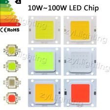 LED cob chip 10W 20W 30W 50W 70W 100W rgb smd bulb floodlight lamp DIY DC12V 32V