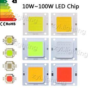 LED chip cob 10W 20W 30W 50W 70W 100W rgb smd bulb floodlight lamp DIY DC12V 32V