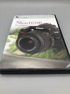 BLUE CRANE DIGITAL: INTRO TO NIKON D3100 CAMERA DVD + D3100 Manual