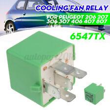 12V 35A Relais de Ventilateur Radiateur pour Peugeot 206 207 306 406 807 6547TX