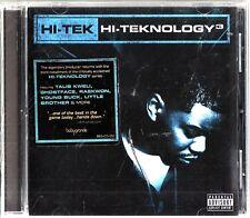 DJ HI-TEK - HI-TEKNOLOGY 3 UNDERGROUND CD (2007) Young Buck, Estelle Swaray
