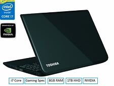 "Toshiba Satellite L50-A-18T 15.6"" i7 Core 8 GB Ram 1 TB HDD Full HD"