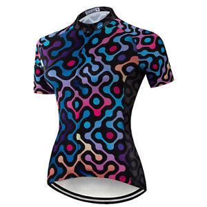 2021 Women's Summer Cycling Jersey Top Short Sleeve Bike Cycle Shirt Jersey