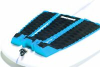 Dorsal 3 Peice Surfboard Tail Traction Pad Black with Blue