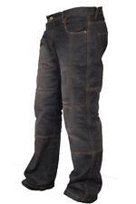 Pantalones de color principal negro para motoristas