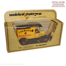 Matchbox Models of Yesteryear 1912 Diecast Model Y-12 Ford Model T - Coleman's