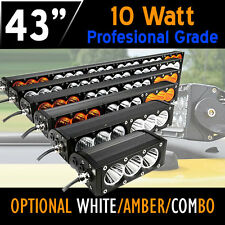 LED Work Light Bar– 240w 43 Inch CREE 10w LED's 12v,24v, 4x4 4WD Offroad Truck.