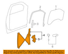 GM OEM Front Door-Window Regulator 20945138