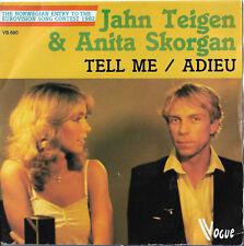 "Jahn Teigen & Anita Skorgan ""Tell me/Adieu"" Eurovision Norway 1982"