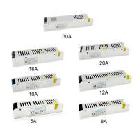 12V DC 5A 8.5A 10A 20A 30A LED Netzteil Trafo Adapter Treiber LED Strip Streifen