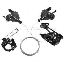 SRAM X4 MTB Bike Groupset Front & Rear Derailleur X4 Shifters 3x8 Speeds