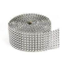 Silver Mesh Bling on a Roll - 3mm x 8 rows