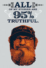 "DUCK DYNASTY SI wall stickers MURAL 11 decals Redneck quote room decor 16""x30"""