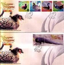 2000 MALAYSIA FDC - BIRDS