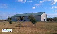 Steel Factory Mfg Prefab Barn Metal Frame 40x50x12 Garage Building Kit Usa Made