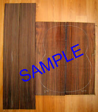 AAA Indian Rosewood Backs and Sides Set, Jumbo Guitar, Luthier, Back and Side