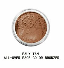 BareMinerals All Over Face Color 1.5 g/ 0.05 oz. Bronzer - Faux Tan New Sealed