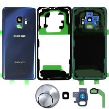 Replacement Back Glass Battery Cover for -OEM Blue- Samsung Galaxy S9 G960