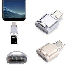 Metal USB 3.1 Type C Micro SD TF Card Reader OTG Adapter For Samsung Galaxy S8