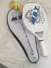 Set racchetta beach tennis + palline tennis con custodia