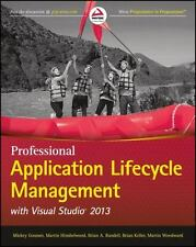 Professional Application Lifecycle Management with Visual Studio 2013 (Wrox Pro