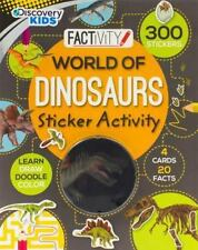 World Of Dinosaurs (Discovery Kids)-ExLibrary