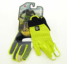 Race Face STAGE Kevlar Cycling Gloves, Lime Green, Size Medium
