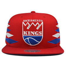 Sacramento Kings VINTAGE DIAMOND Red SNAPBACK Mitchell & Ness NBA Hat