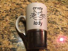 New listing Crazy Cat Lady Tall Mug