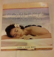Complete Relaxation CD Piano Ocean Waves New