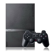 sony playstation 2 slim. sony playstation 2 slim black console good condition playstation l