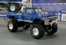 1/64 FORD F100 BIGFOOT MONSTER TRUCK NEW ON CARD GREENLIGHT