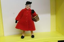 DOLLS HOUSE =  Handcrafted   Character  GRANDMOTHER