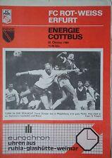 SC Charlottenburg Programm 1996//97 FC Energie Cottbus