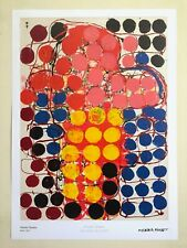 "ATSUKO TANAKA ABSTRACT MID CENTURY MODERNISM MUSEUM EXHBTN POSTER ""WORK"" 1957"