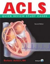 ACLS Quick Review Study Cards by Barbara Aehlert (2003, Cards,Flash Cards,...