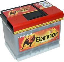 Banner POWER BULL PRO 12V 63 Ah P6340 Batterie Autobatterie