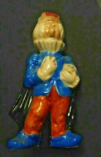 1969 Sealed Drioli Bottle 1.4 0z. Made In Italy Man Holding Skull