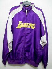 VTG Majestic Lakers Jacket Mens Size XLT Purple NBA EXCELLNT