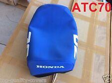 """Honda ATC70 ATC 70 1984-1985 Brand New """"BLUE"""" SEAT COVER. HIGH QUALITY"""