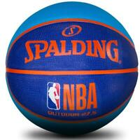 NBA Coloured Basketball Size 5 Outdoor Ball Spalding