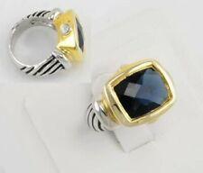 Anillos de bisutería anillo con piedra de oro amarillo