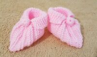 Hand Knitted Baby footwear shoe suitable for 3 months to 6 months