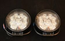 2X 27W Round 12V LED Flood Light lamp Offroad ATV Snowmobile Truck Boat Trailer