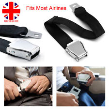 Adjustable Airplane Safety Seat Belt Airline Seatbelt Extension Extender Buckle