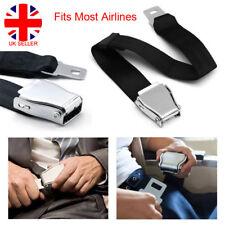 Adjustable Airplane Safety Seat Belt Airline Seatbelt Extension Buckle UK L4U