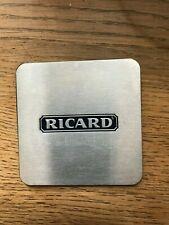 Ricard onderlegger coaster metal