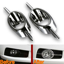 2Pcs Fog Light Cover Front Fog Lamp Trim Bezel ABS For Cruze 2009-2013 Car Auto
