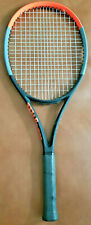 New Demo Clash 98 Tennis Racket 4 1/2 L4 Grip Strung and Ready To Play