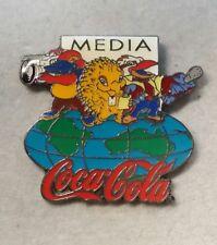 "2000 SYDNEY COCA COLA ""COKE"" MEDIA OLYMPIC PIN"